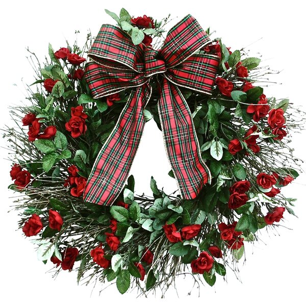 outdoor holiday wreaths joss main - Outdoor Christmas Wreaths