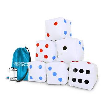 Hey! Play! Giant Dice Set & Reviews | Wayfair