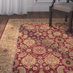 Edwards Red Area Rug