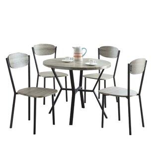 Merrifield 5 Piece Round Dining Set
