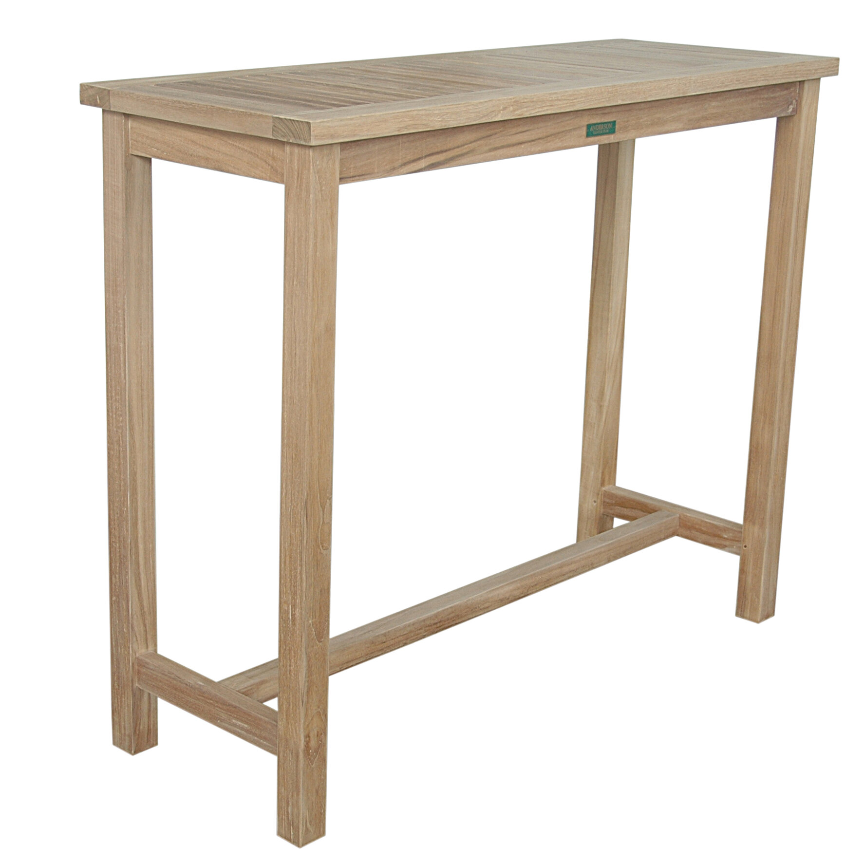 Anderson Teak Windsor Teak Bar Table | Wayfair