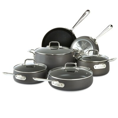 HA1 10-Piece Non-Stick Cookware Set All-Clad