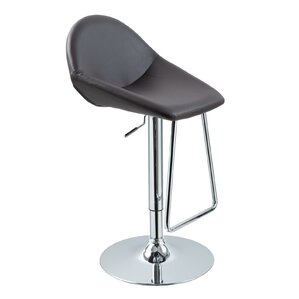 Adjustable Height Swivel Bar Stool by VIG Furniture
