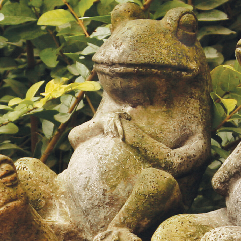 Orlandistatuary Animals Laid Back Frog Statue Amp Reviews