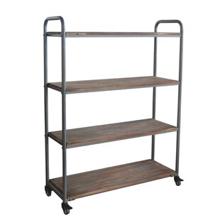 4 Tier Shelf With Wheel Utility Cart
