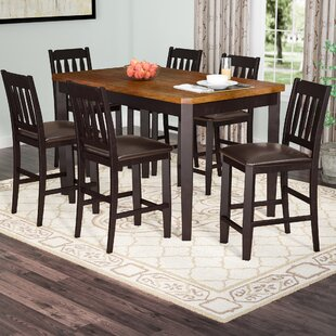 Chandlerville 7 Piece Counter Height Dining Set