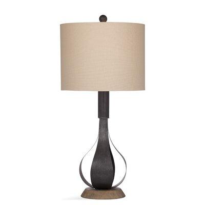 "Gracie Oaks Warrior 28"" Table Lamp"