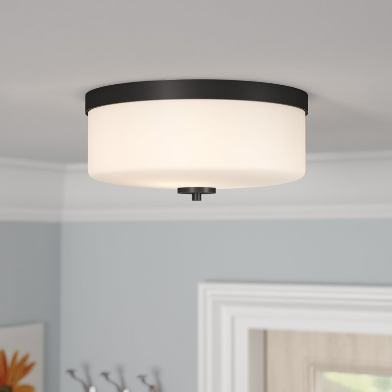 Sanderson 2 light flush mount
