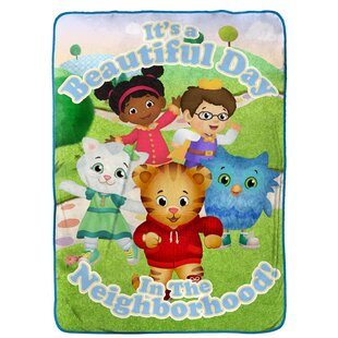Daniel Tiger Treehouse Pals Blanket By Disney
