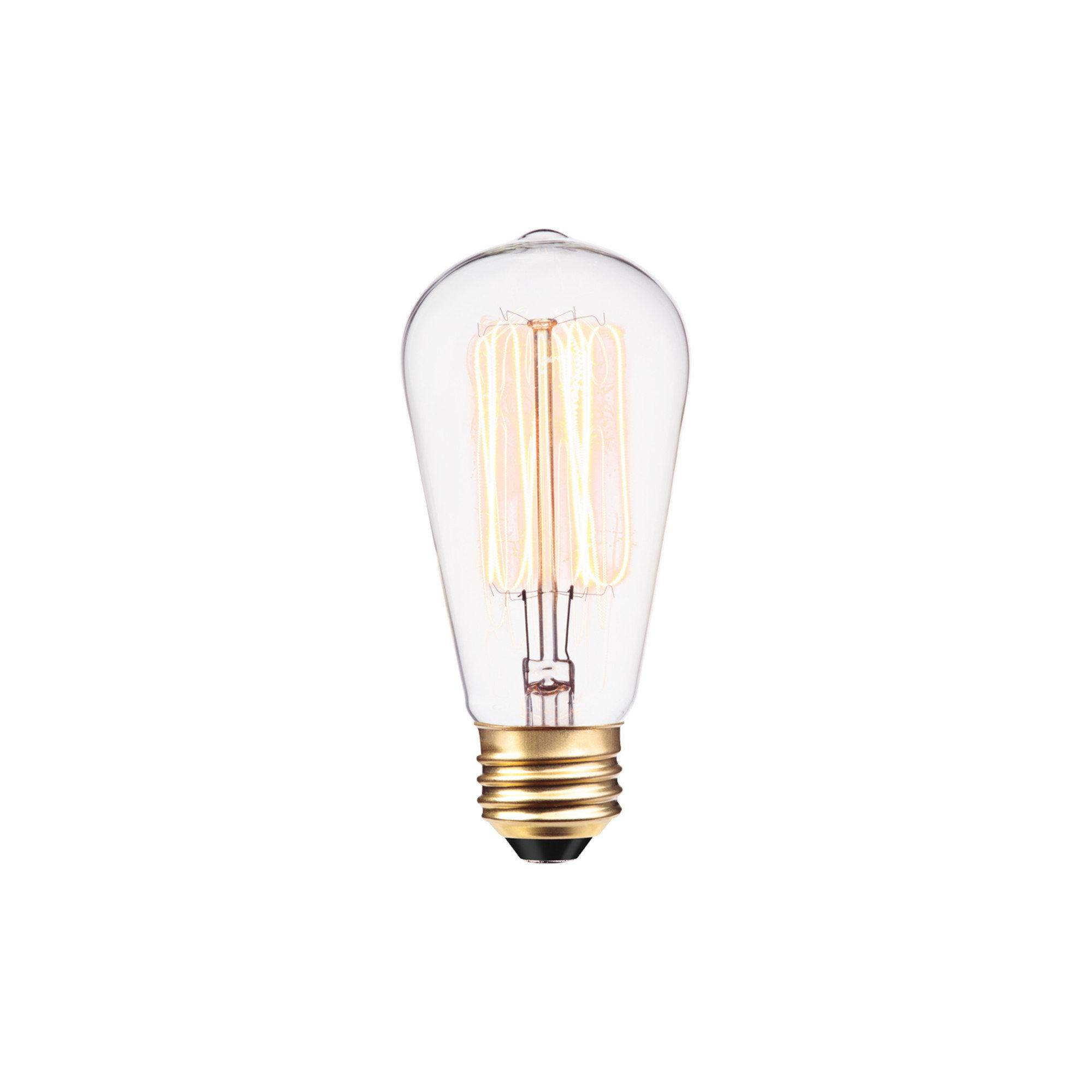 313242 40 Watt A19 Incandescent Dimmable Light Bulb Warm White 2700k E26 Medium Standard Base