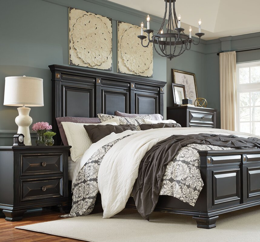 Darby Home Co Petronella Panel Configurable Bedroom Set