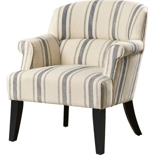 Accent Chairs Joss Main - Curves-button-back-chair-in-chocolate-brown-and-green