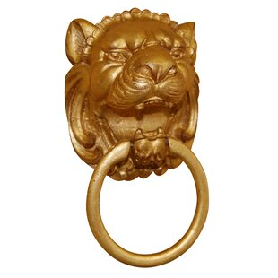 Lion Head Wall Mounted Holder Towel Ring