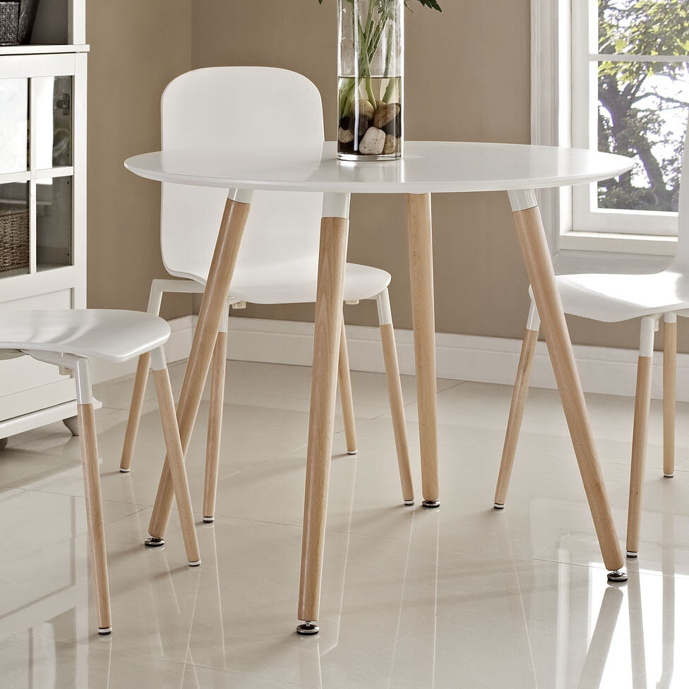 Zipcode design jacobson large dining table reviews wayfair
