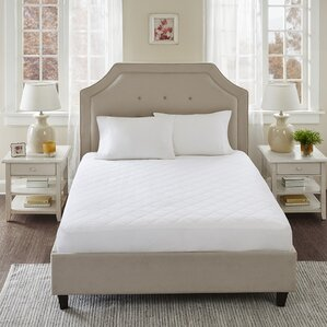 All Natural Hypoallergenic Mattress Protector by Alwyn Home
