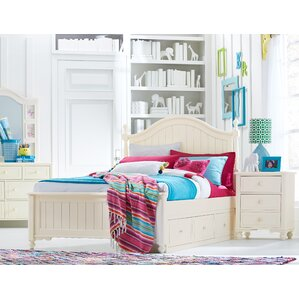 Otto Low Poster Slat Storage Configurable Bedroom Set by Viv + Rae