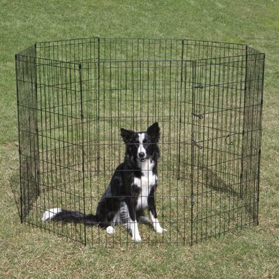 """Exercise Dog Pen Crate Appeal Size: Large (36"""" H)"""