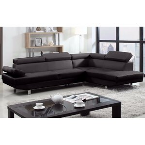 Modern Reclining Sectional by Madison Home USA