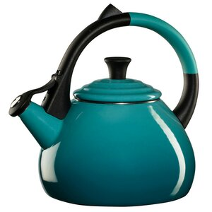 Enamel On Steel 1.6 Qt. Oolong Tea Kettle