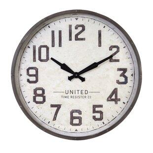 Industrial Wall Clocks You Ll Love Wayfair