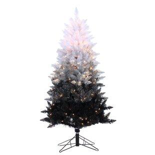 Black Pre Lit Christmas Trees You Ll Love In 2019 Wayfair