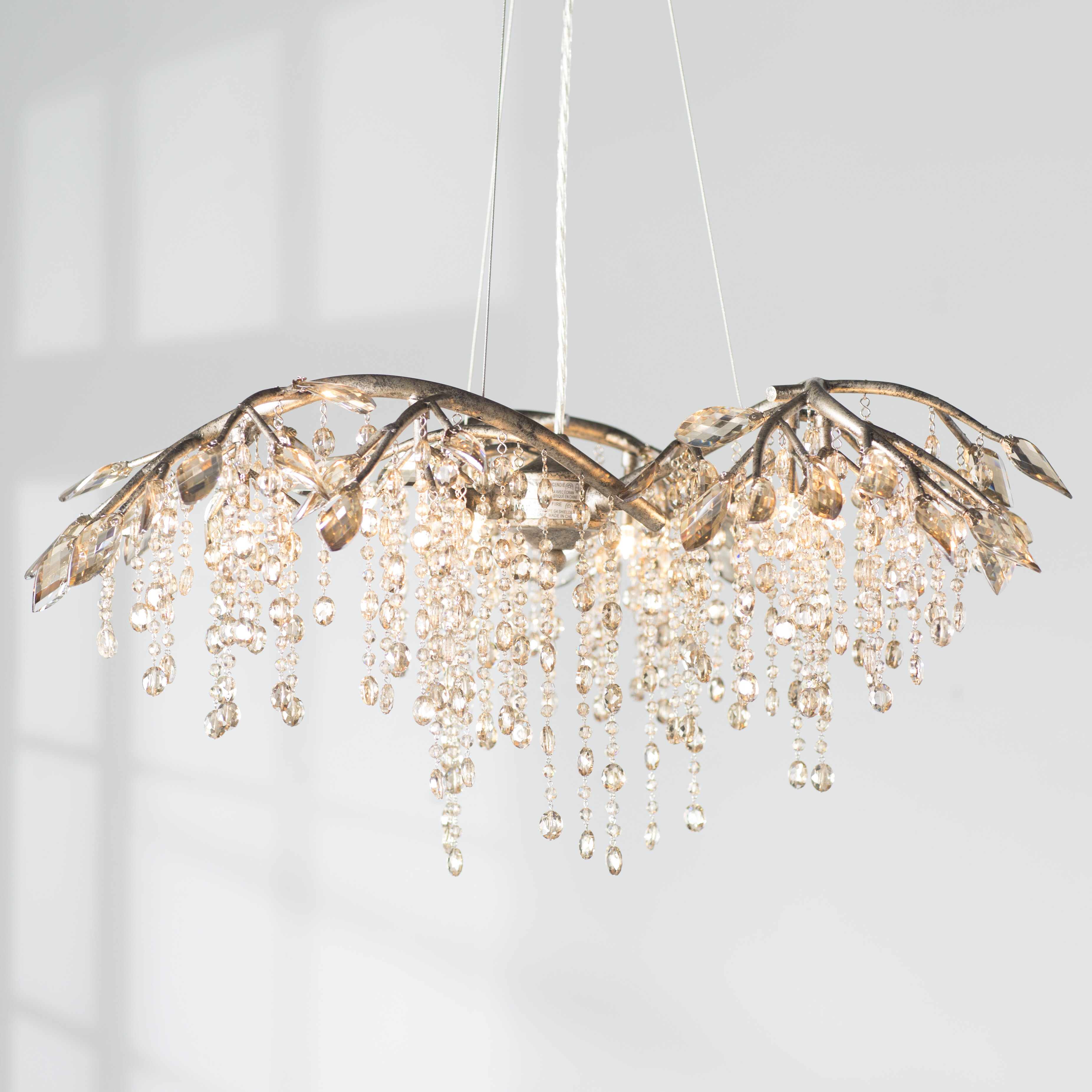 Willa arlo interiors destrie 6 light crystal chandelier reviews willa arlo interiors destrie 6 light crystal chandelier reviews wayfair aloadofball Images