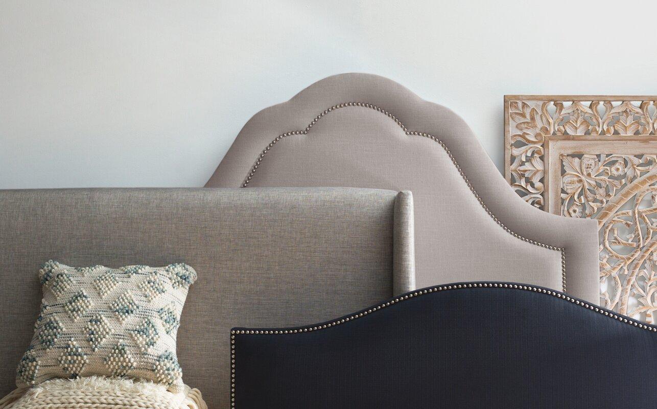 Wingback Upholstered Headboard