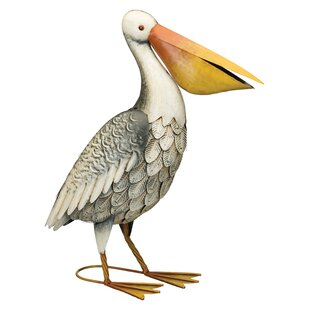 Wooden Pelican Statues Wayfair