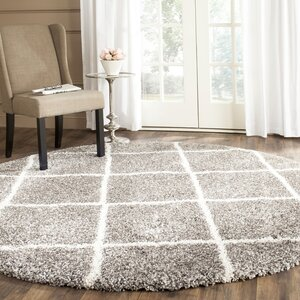 Duhon Gray Area Rug