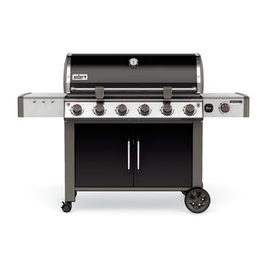 Genesisu00ae II LX E-640 6-Burner Natural Gas Grill with Cabinet