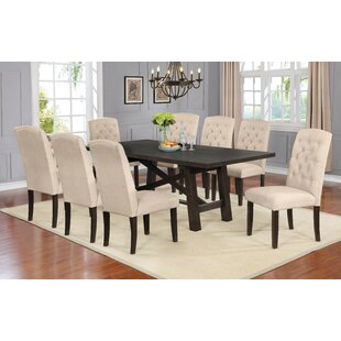 Trombetta 9 Piece Drop Leaf Dining Set