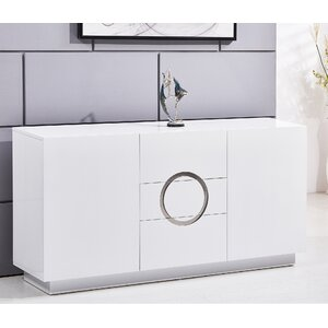 Modern 3 Drawer Accent Cabinet