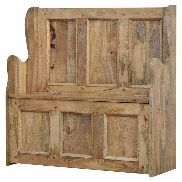 Union Rustic Sitzbank Boulder Aus Holz Mit Stauraum
