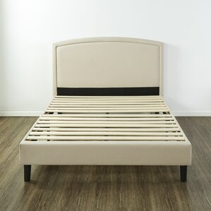 Stanhope Arched Upholstered Platform Bed by Red Barrel Studio