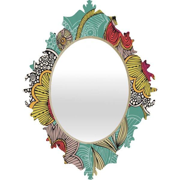 Baroque Wall Mirror deny designs valentina ramos beatriz baroque wall mirror & reviews