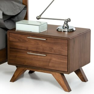 Marvelous Hali 2 Drawer Nightstand