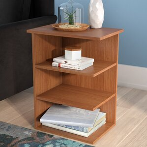 Fay Modern 3 Shelf End Table by Zipcode Design