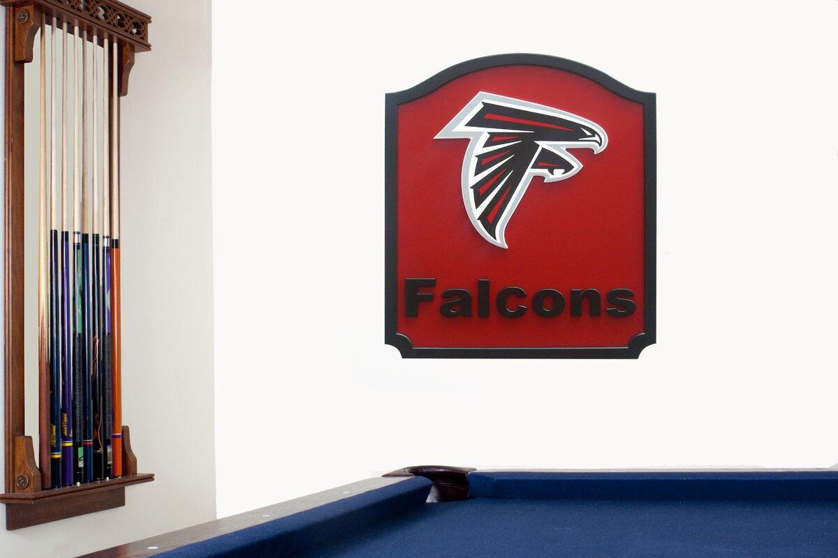 NFL 'Shield' Graphic Art Print on Wood