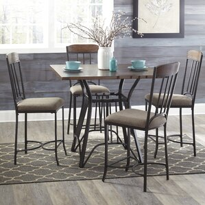 Wildwood 5 Piece Pub Table Set by Latitude Run