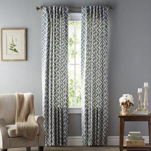 Gray Amp Silver Curtains Amp Drapes Birch Lane