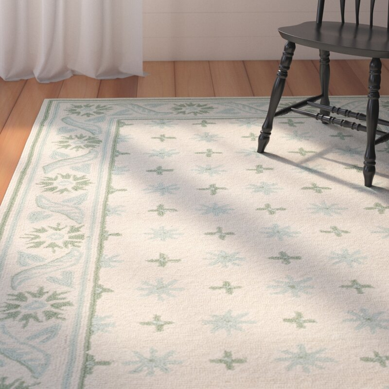 Pipers Beige/ Light Green Area Rug