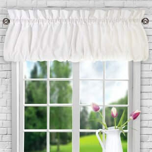 Valances & Kitchen Curtains | Joss & Main on tab top curtains with valance, cheap curtain ideas, kitchen window treatment ideas,