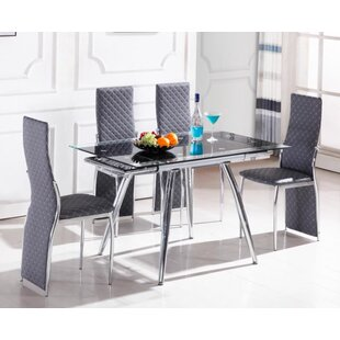 Exceptionnel Boothe 5 Piece Extendable Dining Set