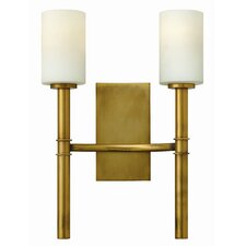 Chaudhry 2-Light Wall Sconce