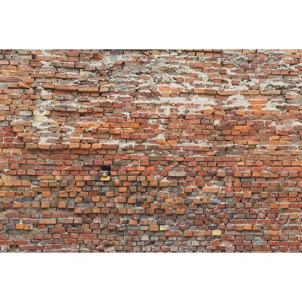 Superior Komar Bricklane Wall Mural U0026 Reviews   Wayfair Pictures