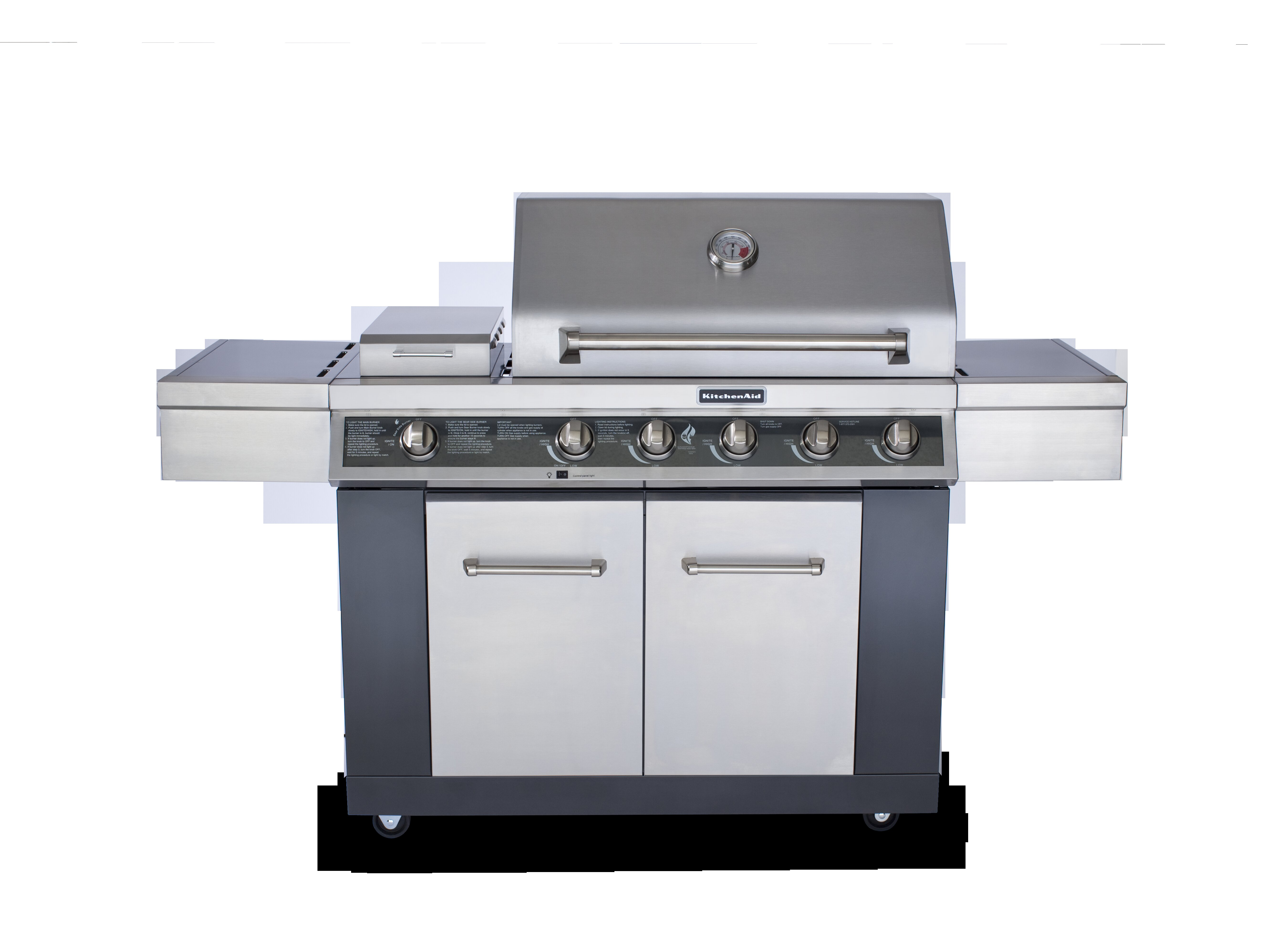 Kitchenaid Burner Gas Grill Model Wow Blog