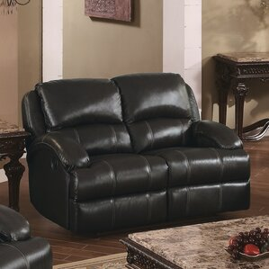 Elwin Recliner Reclining Loveseat by Red Bar..