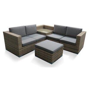 4-Sitzer Ecksofa-Set Sandringham von Glencrest Seatex