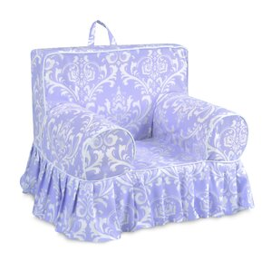 Fredrick Paisley Skirted Kids Cotton Chair by Harriet Bee