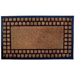 Molded Checker Border Doormat